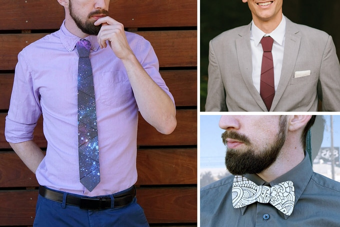 Cardboard Neckwear Wear To Work 7