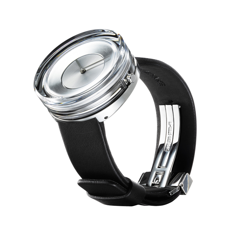 Glass Watch Tokujin Issey Chic 1