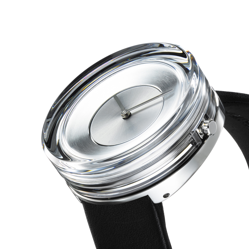 Glass Watch Tokujin Issey Chic 5