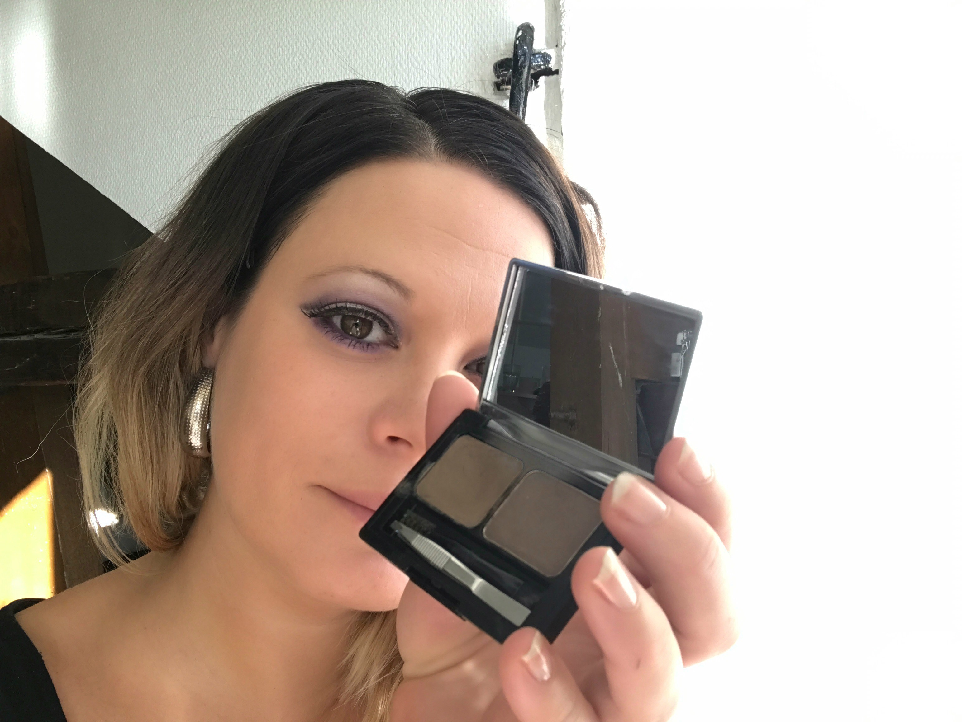 Lilac Smokey Eyes Nude Lips 27