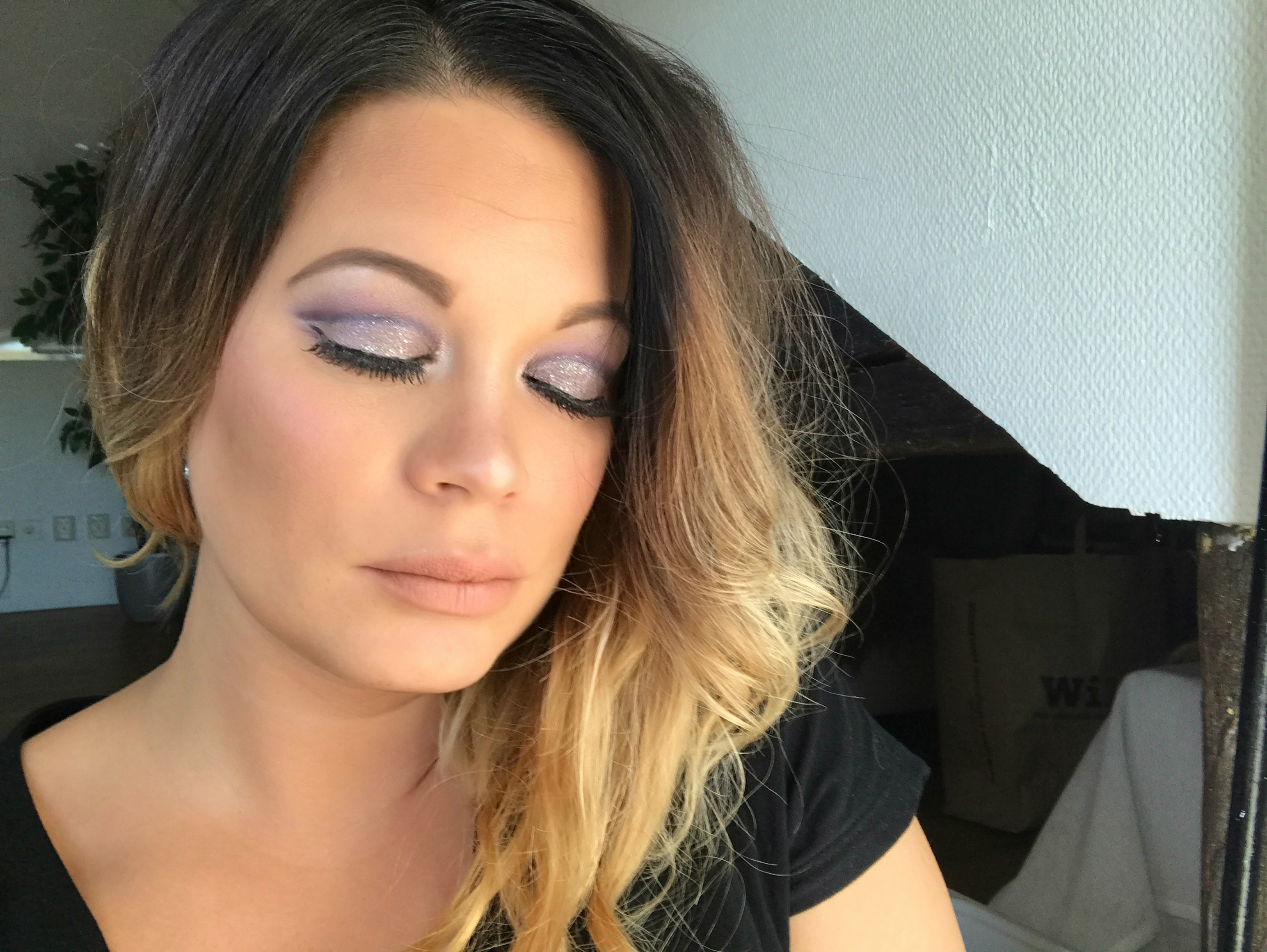 Lilac Smokey Eyes Nude Lips 45