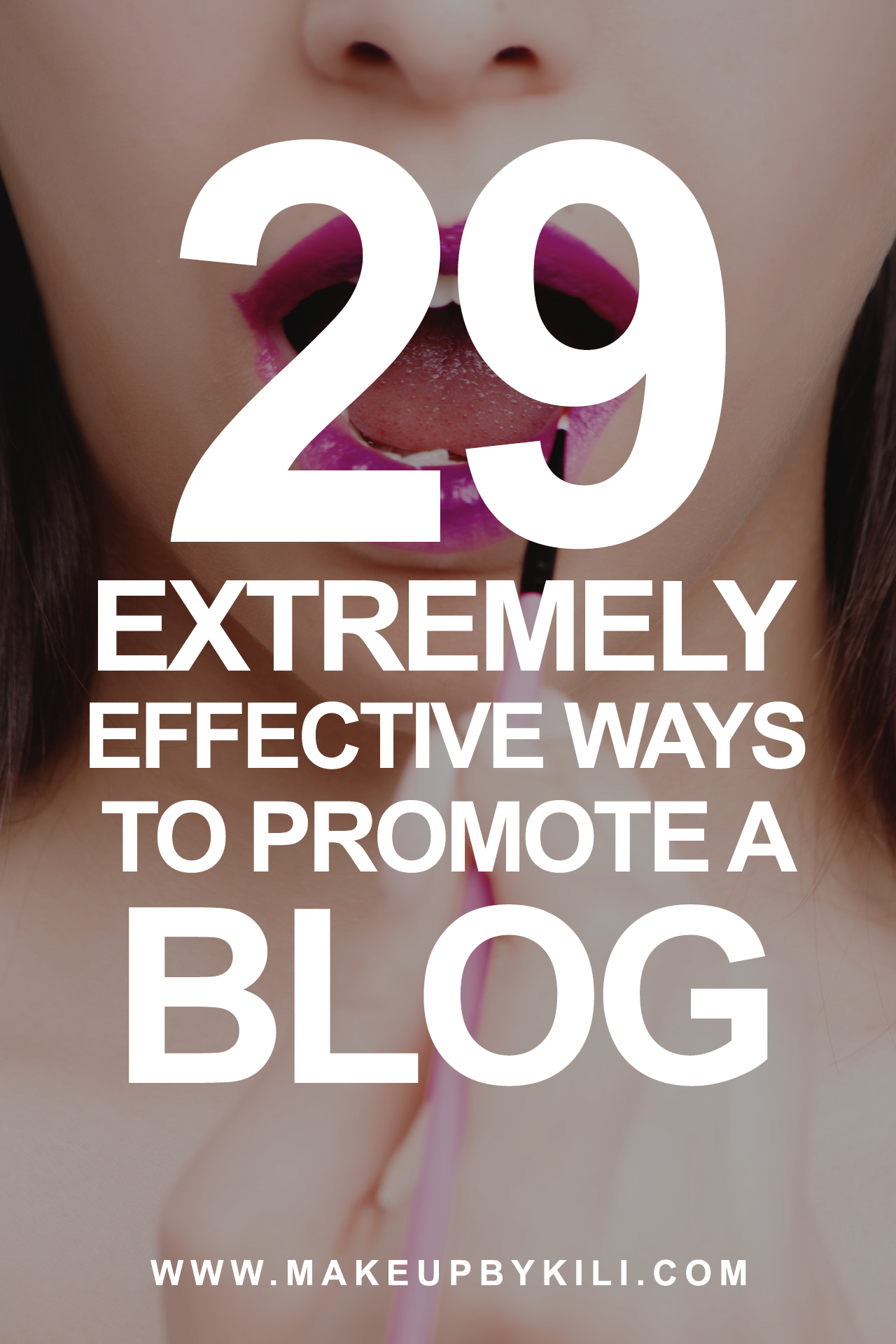 29 Ways Promote A Blog Pinterest Image