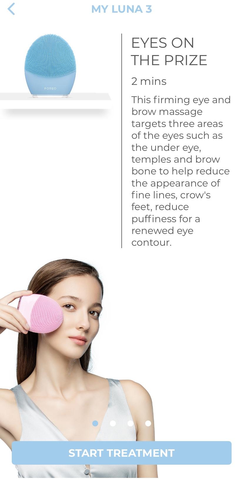 Cepillo Facial Luna Foreo Imagen7