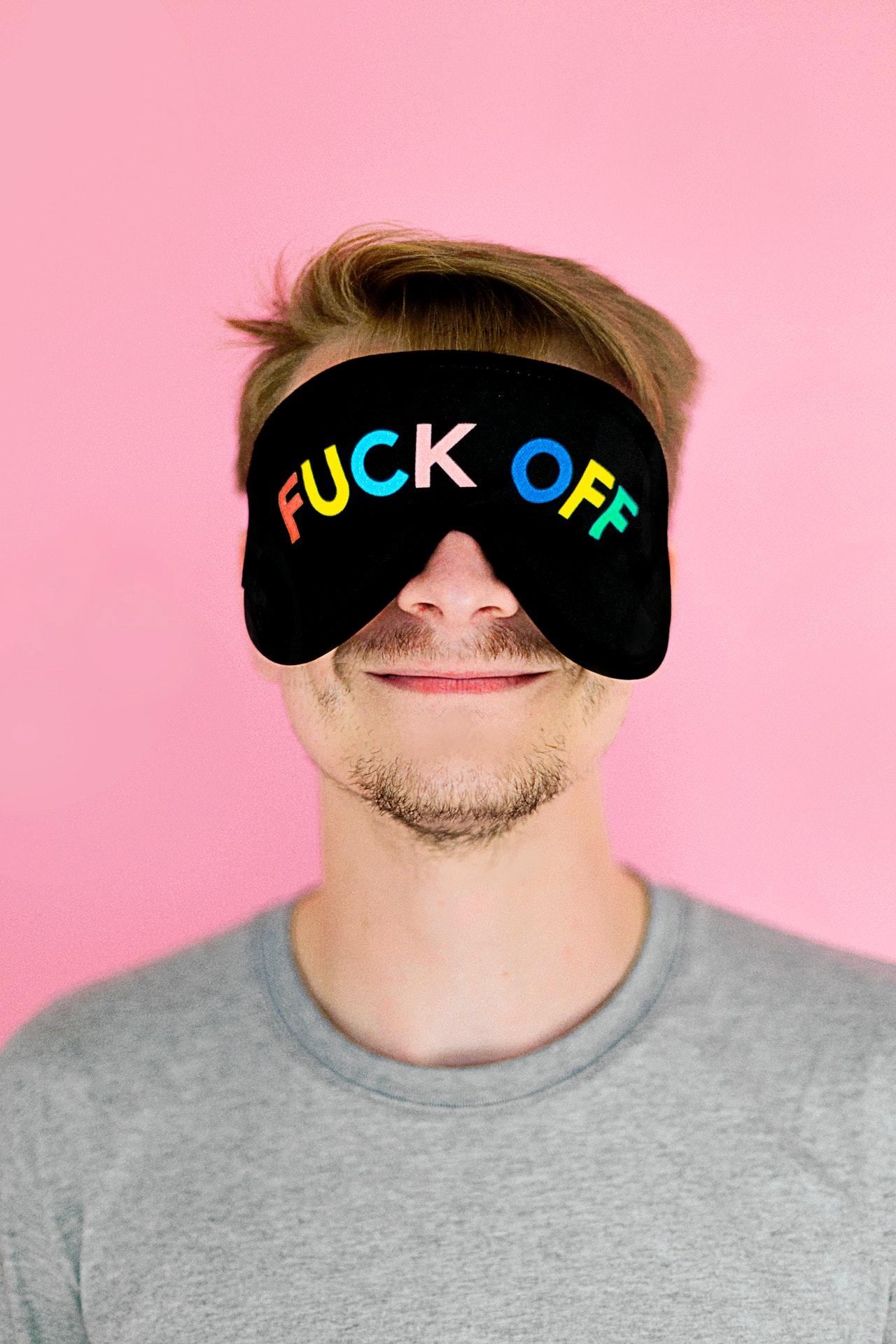 Män Bort Påsar Ringar Under Ögon
